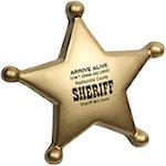 Sheriffs Badge Stress Balls